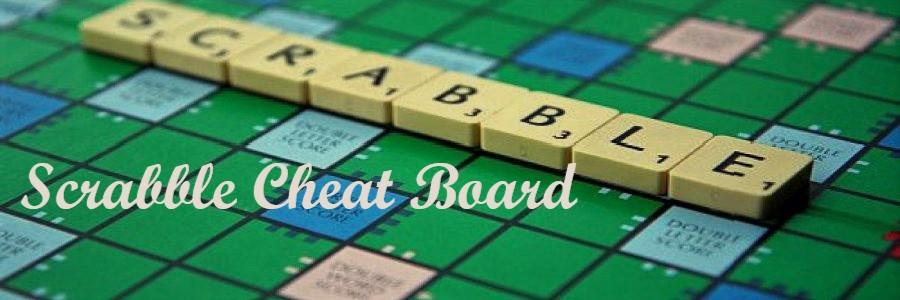 Scrabble Cheat Board