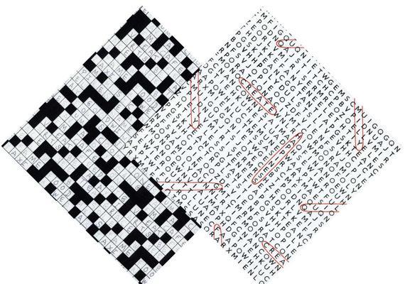 Word finder crossword