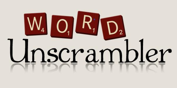 word unscramble